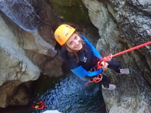 Canyoning coiserette jura